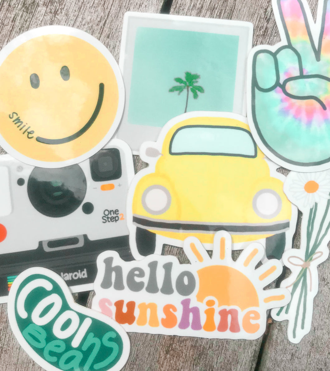Hippie Sticker Pack