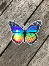 Load image into Gallery viewer, Holographic Butterfly Sticker