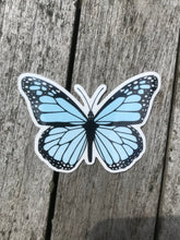 Load image into Gallery viewer, Light Blue Butterfly Sticker