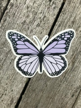 Load image into Gallery viewer, Lilac Butterfly Sticker