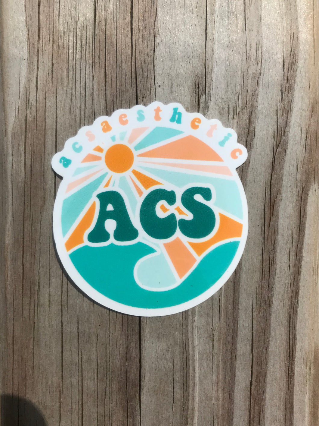 ACS AESTHETIC Logo Sticker