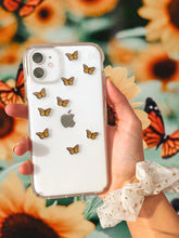 "Load image into Gallery viewer, Mango 0.5"" Mini Butterfly Stickers"