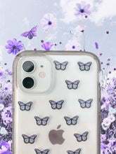 "Load image into Gallery viewer, Lilac 0.5"" Mini Butterfly Stickers"