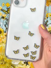 "Load image into Gallery viewer, Yellow 0.5"" Mini Butterfly Stickers"