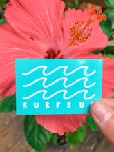 Load image into Gallery viewer, Surf's Up Wave Sticker