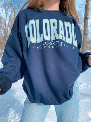 Rocky Mtn. State Crewneck
