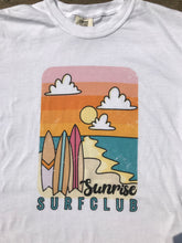 Load image into Gallery viewer, Sunrise Surf Club Tee