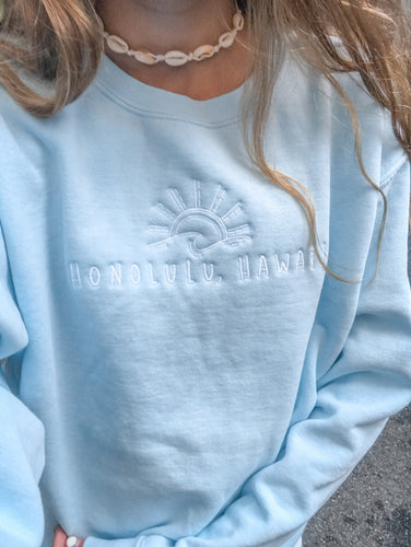 Honolulu Crewneck