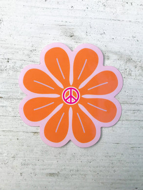 Groovy Flower Sticker