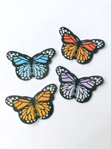 "1"" Mini Butterfly Sticker Pack"
