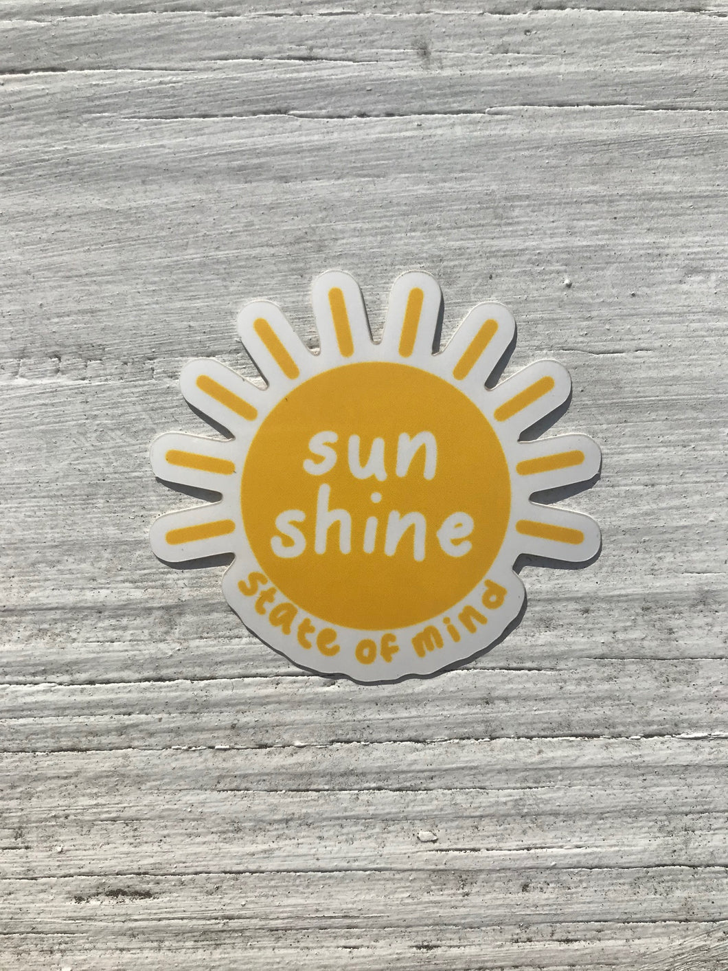 Sun Shine State of Mind Sticker