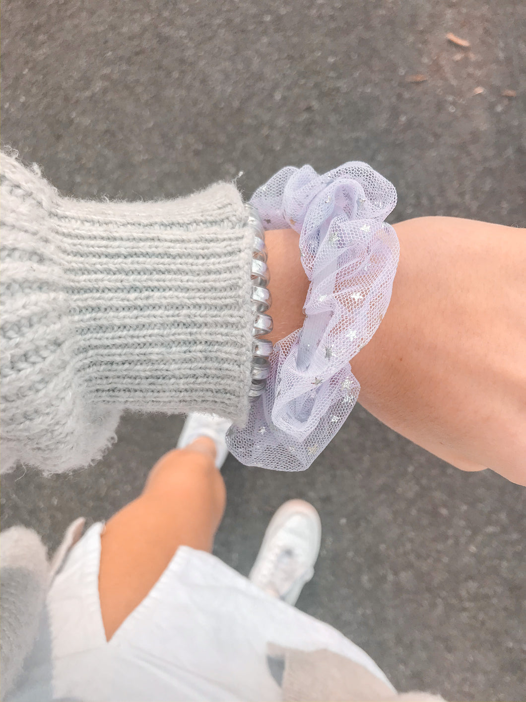 Lavender Twilight Scrunchie