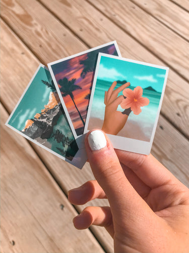Polaroid Stickers