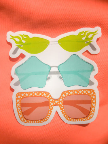 Aesthetic Sunglasses Sticker
