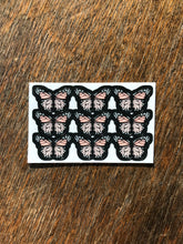 "Load image into Gallery viewer, Light Pink 0.5"" Mini Butterfly Stickers"