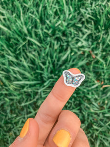 Glitter Mini Butterfly Sticker Pack