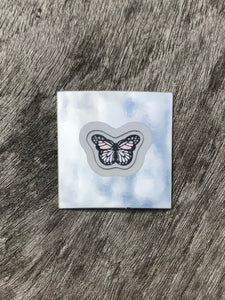 Rose Gold Mini Butterfly Sticker Pack