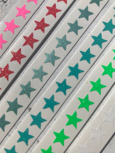 Mini Glitter Star Stickers