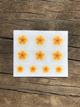 Load image into Gallery viewer, Mini Plumeria Flower Stickers
