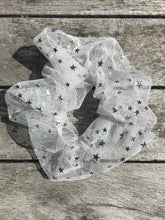 Load image into Gallery viewer, Silver Starshine Scrunchie
