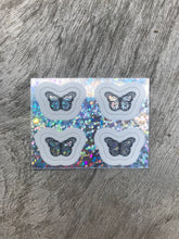 Load image into Gallery viewer, Glitter Mini Butterfly Sticker Pack