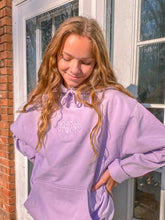 Load image into Gallery viewer, Lilac Stay Groovy Hoodie