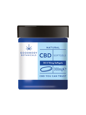 Goodbody Botanicals CBD Softgels