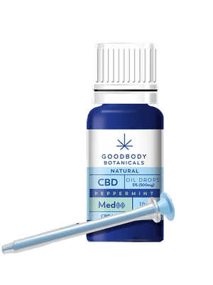 Peppermint Goodbody Botanicals CBD Oil MED