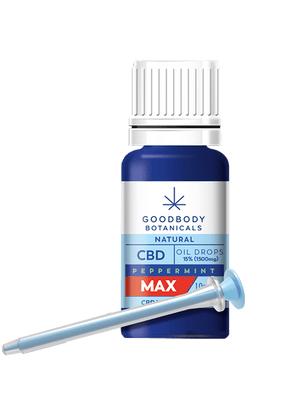 Goodbody Botanicals CBD Oil MED - Peppermint [Multiple Strengths]