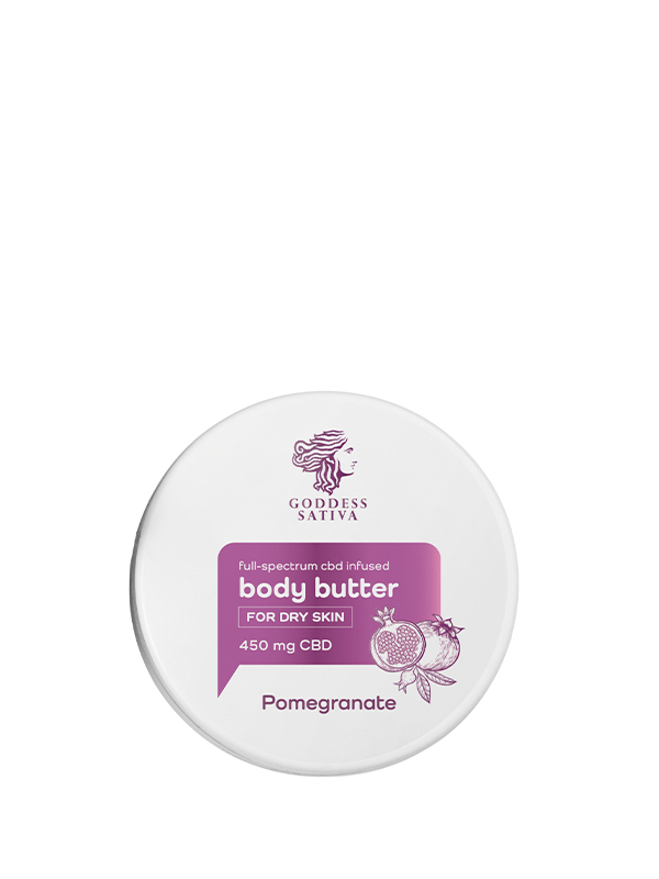 Reakiro Pomegranate CBD Butter