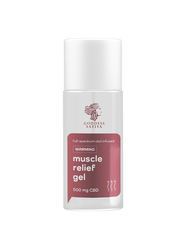 Reakiro Muscle Relief Gel - Warming