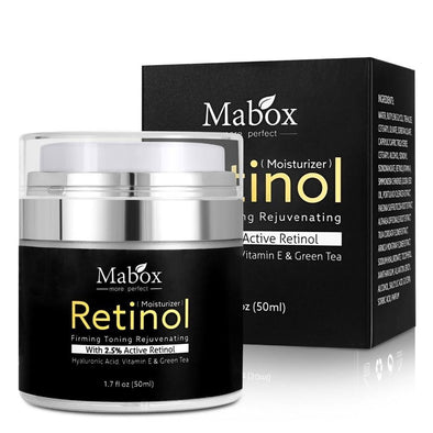 MABOX Retinol 2.5 Moisturizing Face Cream