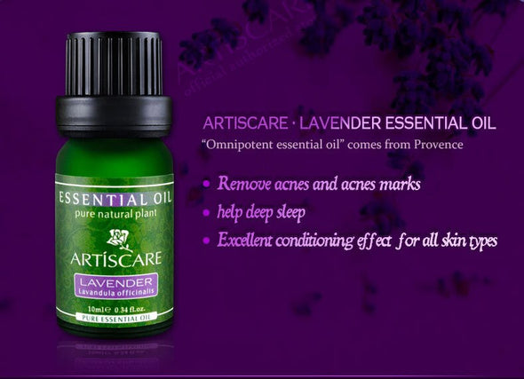 ARTISCARE SET 2 Pure Lavender essential oil + Tea tree essential oil