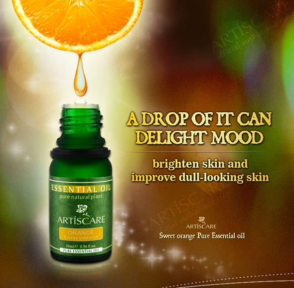 ARTISCARE SET 2 Orange and Lemon Essential Oils