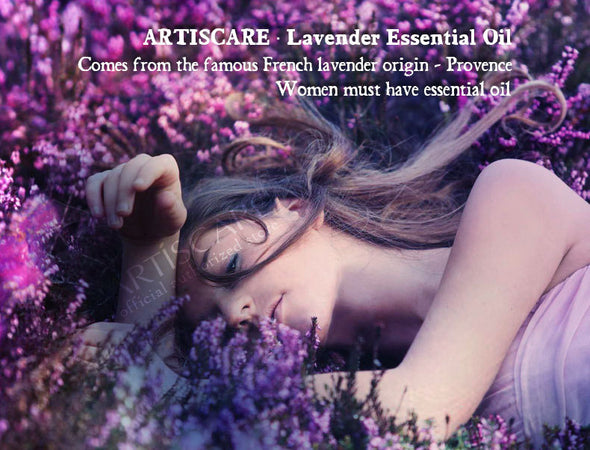 ARTISCARE 100% Natural Lavender Essential Oil