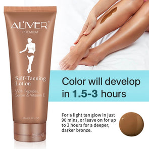 ALIVER Self-tanning Cream - silver-beauty-products