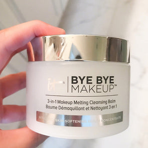 IT COSMETICS Bye Bye 3-in-1 Makeup Melting Cleansing Balm Removing Cream