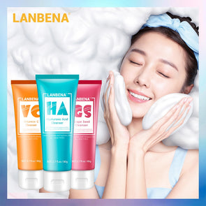 LANBENA Facial Foam Cleanser Face Wash