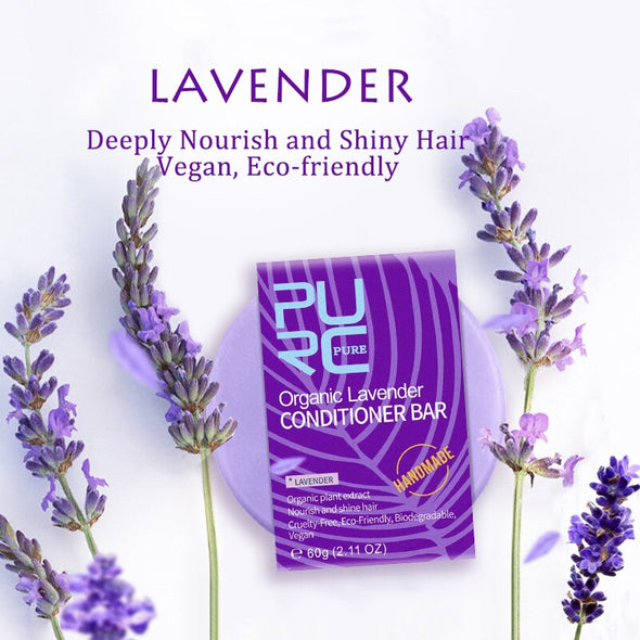 PURE Lavender Conditioner & Thicker Hair Shampoo Bar