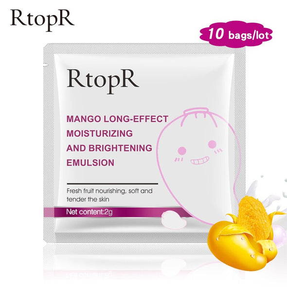 RTOPR 10PC Face Anti-Aging Mango Deep Hydrating Emulsion