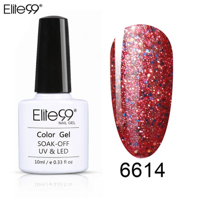 Elite99 1pc Collection Variety Neon Starry Gel Nail Polish