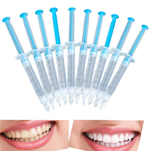 10pcs Teeth Whitening Gel Syringes