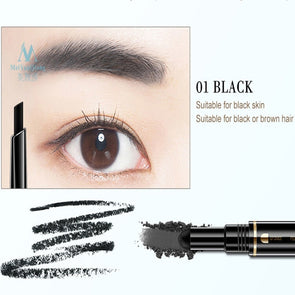 MeiYanQiong Air Cushion Triad Eyebrow Pencil 3-in-1 - silver-beauty-products