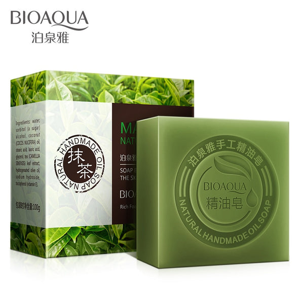BIOAQUA Organic Essential Oil Soap Handmade - silver-beauty-products
