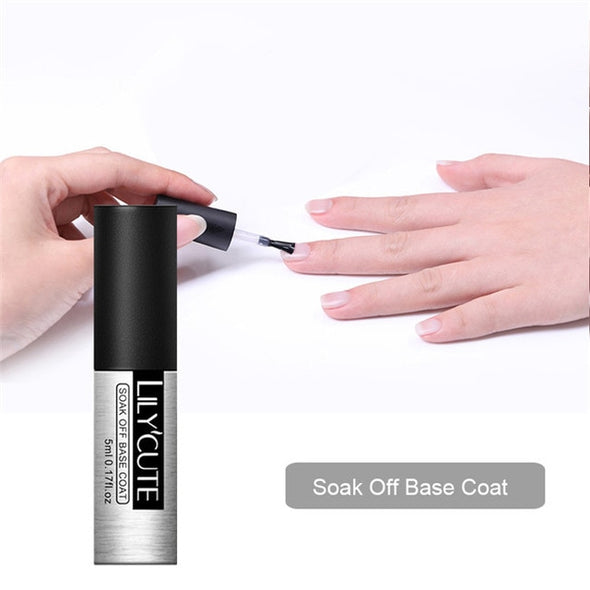 LILYCUTE Color Gel Nail Polish - silver-beauty-products