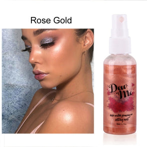 DEW ME Hydrating Rose Opalescent Spray Mist - silver-beauty-products