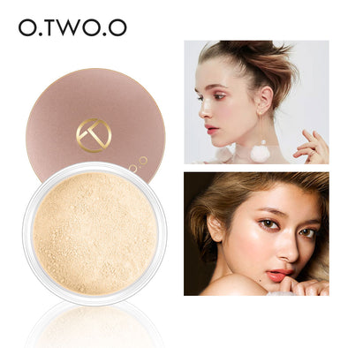 O.TWO.O Smooth Matte Loose Powder Makeup With Puff
