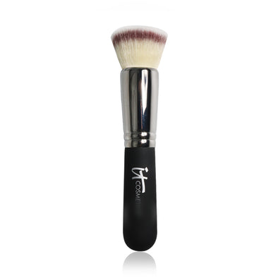 IT Cosmetic Heavenly #6 Flat Top Buffing Foundation Brush - silver-beauty-products
