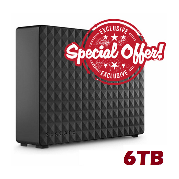 "Hyperspin +215 Systems 6TB External HDD 3.5 "" USB 3.0-Hyperspin Systems™"