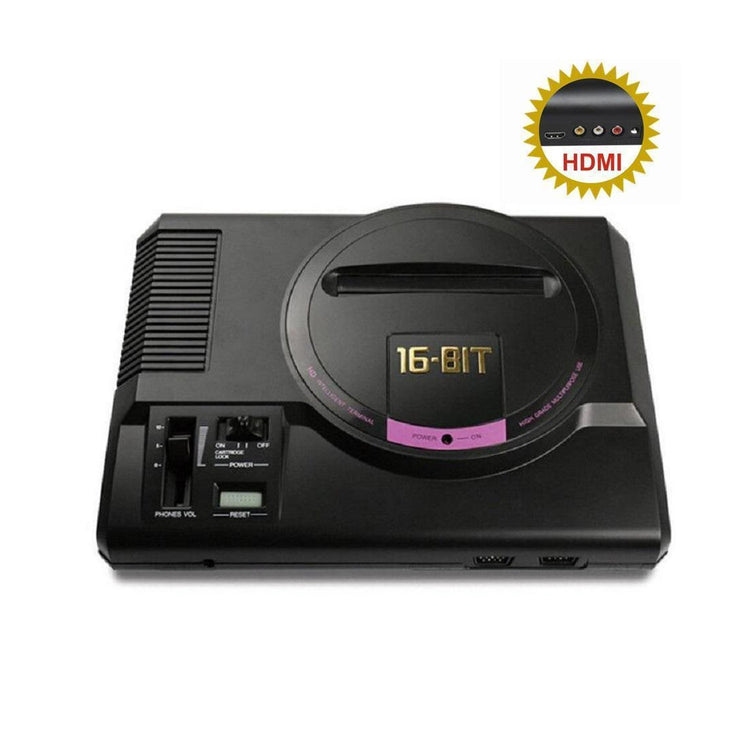 Sega MegaDrive / Genesis HDMI Console +1000 Games-Hyperspin Systems™